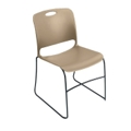 Stack Chair with Polypropylene Seat and Back without Glides, 51576