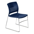 Armless Sled Base Polypropylene Stack Chair, 51324