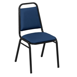 Square Back Stack Chair in Fabric, 51337