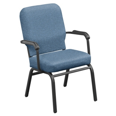 Captivating Vinyl Stack Chair   500 Lb Weight Capacity , 51360