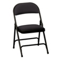 """Oasis Fabric Folding Chair with 1-3/8"""" Thick Seat, 51367"""
