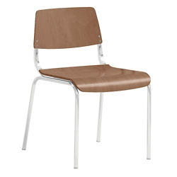 Molded Wood Armless Guest Chair, 51519