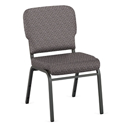 Designer Upholstery Armless Wingback Stack Chair, 51542