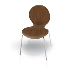 Armless Stackable Chair, 51588