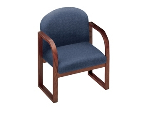 Sled Base Conference Chair with Arms, 52143