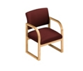 Sled Base Open Back Chair, 52366