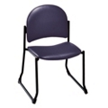 Armless Sled Base Stackable Chair - 400 lb Weight Capacity, 52188