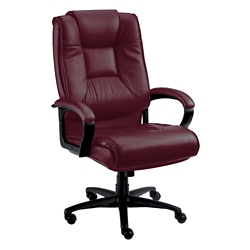 High-Back Leather Conference Chair, 52210