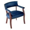 Traditional Vinyl Conference Chair, 52287