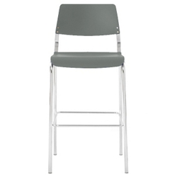 Thermoplastic Armless Guest Stool, 52400