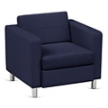 Atlantic Lounge Chair in Designer Upholstery, 53030