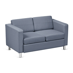 Atlantic Faux Leather Loveseat, 53033