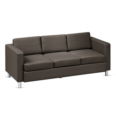 Merveilleux Atlantic Faux Leather Sofa, 53035