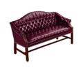 Traditional Leather Sofa, 53306