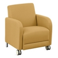 """Parkside Guest Chair with Casters - 27""""W, 53611"""