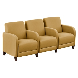 "Parkside Three Seater with Center Arms - 75.5""W, 53616"