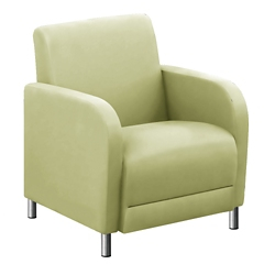 "Parkside Guest Chair in Polyurethane or Fabric - 27""W, 53618"