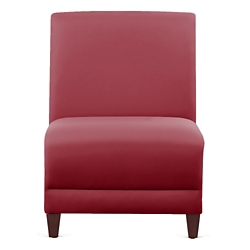 "Parkside Armless Guest Chair in Polyurethane or Fabric - 21""W, 53620"