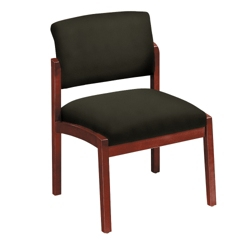 New Castle Fabric Armless Guest Chair, 53664
