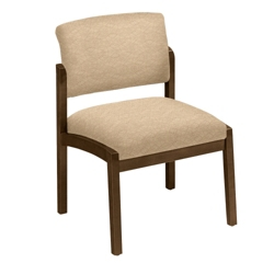 New Castle Designer Upholstery Armless Guest Chair, 53675