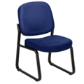Armless Guest Chair in Fabric, 53865