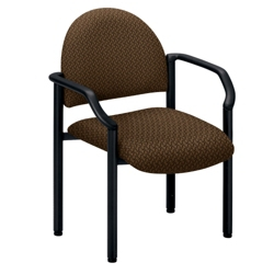 Guest Chair in Designer Fabric or Polyurethane, 53875