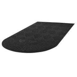 "Super Soaker Mat with Single Fan Design - 34""W x 65""D, 54206"