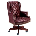 Traditional High Back Executive Swivel Chair, 55280