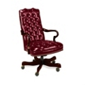 Vinyl Executive Chair, 55476