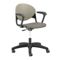 Plastic Back Task Chair with Black Frame, 56241
