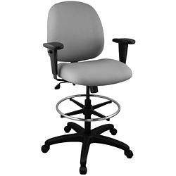 Ergonomic Stool with Arms, 56265
