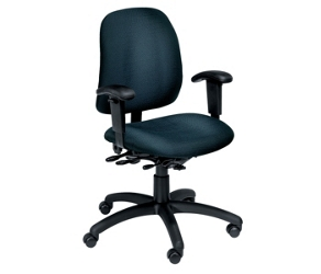 Standard Fabric Ergonomic Chair with Arms, 56308