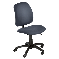 Heavy-Duty Fabric Armless Task Chair, 56312