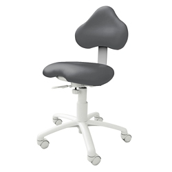 Dental Operator Stool with HybriGel Seat and Foot Ring, 56617