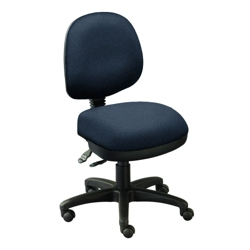 Armless Low-Back Ergonomic Chair, 56774
