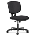 HON Volt Armless Vinyl Task Chair, 56918