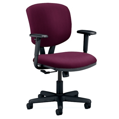 hon volt fabric task chair with arms