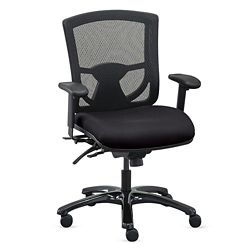 Overtime 24 7 Mesh Back Chair With Fabric Seat 57020