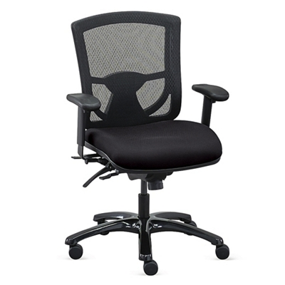 Overtime 24/7 Mesh Back Chair with Fabric Seat  57020  sc 1 st  National Business Furniture & Big and Tall Office Chairs | Shop Heavy Duty Office Chairs | NBF.com