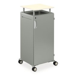 Mobile Lectern with Storage Unit, 60897
