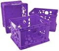 Set of Three Large Crates with Handles, 37169