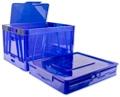 Set of Four Folding Storage Crates, 37196