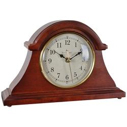 "Napoleon Solid Wood 12"" Tabletop Clock, 86449"