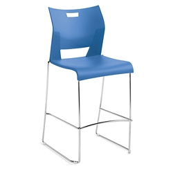 Armless Sled Base Barstool, 50139