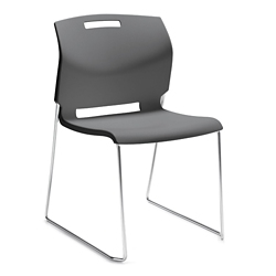 Sled Base Armless Stack Chair, 57178