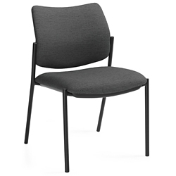 Armless Fabric Stack Chair, 57181