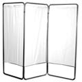 "Three Panel Folding Privacy Screen - 68""H, 20007"