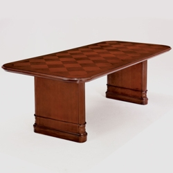 "Checkerboard Veneer Conference Table - 96""W x 44""D, 41894"
