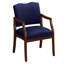 Spencer Arm Chair in Solid Fabric, 75000