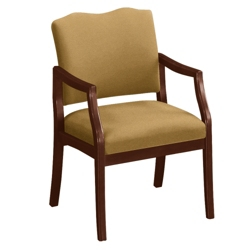 Spencer Arm Chair in Vinyl or Fabric, 75012
